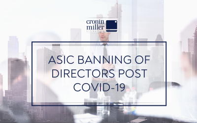 ASIC Banning of Directors post Covid-19