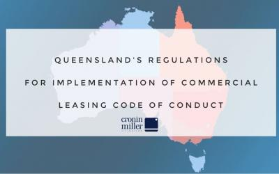 Queensland's Regulations for Implementation of Commercial Leasing Code of Conduct